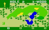 PGA Golf Intellivision Teeing off...