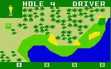 PGA Golf Intellivision Make sure you don't land in the water!