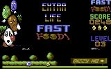 Fast Food Commodore 64 Earned an extra life