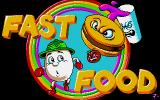 Fast Food DOS Title screen (VGA)