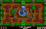 Fast Food DOS Gameplay in the flower bed (VGA)