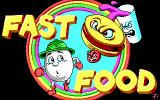 Fast Food DOS Title screen (EGA)