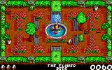 Fast Food DOS Gameplay in the flower beds (EGA)