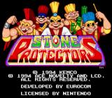 Stone Protectors SNES Title Screen