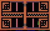 Snake Pit Amiga Level 7 - introducing a new pellet type that shrinks the snake...
