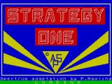 Strategy 1 - Invasion ZX Spectrum Title screen