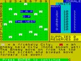 Strategy 1 - Invasion ZX Spectrum Map of the west