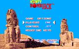 Mighty Bombjack Amiga Game Options