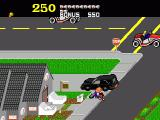 Paperboy Genesis Run over by a car