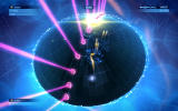 Geometry Wars 3: Dimensions - Evolved Windows Playing a Deadline game on a sphere.