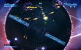 Geometry Wars 3: Dimensions - Evolved Windows Rotating barriers. When they turn red you cannot touch them.
