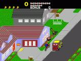 Paperboy Genesis With only a limited supply of papers at the start, you need to pick up more while cycling.