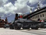 Command & Conquer: Red Alert 2 Windows Russian Apocalypse tanks defending Moscow