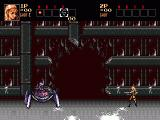 Contra Hard Corps Genesis The boss of the first level