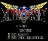 Albert Odyssey SNES Title screen