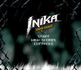 Inika Island Assault Browser Title screen.