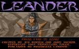 Leander Amiga Title screen
