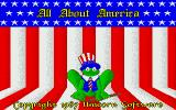 All About America Amiga Title screen
