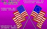 All About America Amiga Second title screen with credits