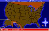 All About America Amiga Present map - Click the correct direction on the compass
