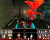 Vampire: The Masquerade - Redemption Windows Enemies are highlighted in red when you attack them. This is a fierce battle against a sadly familiar gargoyle...