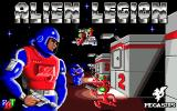 Alien Legion Amiga Title screen