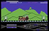 Loco Commodore 64 Lets collect the flags