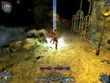 Sacred 2: Fallen Angel Windows Zombies in cave