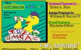 Sesame Street Crayon: Letters For You Amiga Title screen