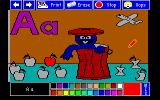 Sesame Street Crayon: Letters For You Amiga A for apples