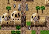 Phantasy Star IV Genesis People turned into stone's statues
