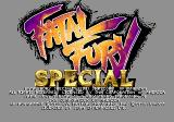 Fatal Fury Special SEGA CD Fatal Fury Special Title Screen