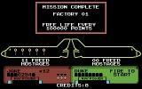 Escape from the Planet of the Robot Monsters Commodore 64 Mission complete!