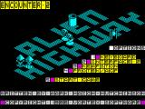 Alien Highway: Encounter 2 ZX Spectrum Title screen