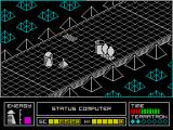 Alien Highway: Encounter 2 ZX Spectrum Barrel secured the road