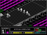 Alien Highway: Encounter 2 ZX Spectrum No passage here