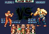 Fatal Fury Special SEGA CD Player Select: Ryo Sakazaki vs Big Bear