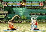 Fatal Fury Special SEGA CD Joe Higashi tornado vs Terry Bogard