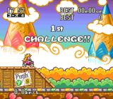 Excitebike: BunBun Mario Battle Stadium SNES First try, the farther you jump, the higher score you receive