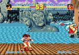 Fatal Fury Special SEGA CD Mai Shiranui vs Terry Bogard