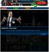 Marvel: Avengers Alliance Browser Agent Coulson giving instructions about the mission.