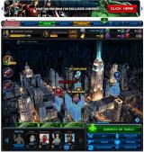 Marvel: Avengers Alliance Browser Missions and deploys of a special operation.