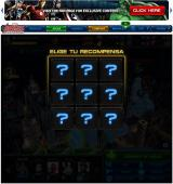 Marvel: Avengers Alliance Browser Reward table of a deploy.