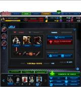 Marvel: Avengers Alliance Browser PVP screen with the attack squad selected.