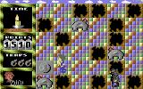 Das KNAX Computerspiel Commodore 64 Tiles switched