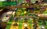 Pinball FX2: Plants vs. Zombies Windows Many ramps and holes for the upper left part