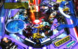 Marvel Pinball: Vengeance and Virtue Windows <i>X-Men</i> - Zoomed in view of the bottom part of the table