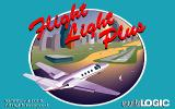 Flight Light Plus DOS Title screen
