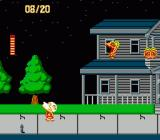 Splatterhouse: Wanpaku Graffiti NES Roaming the streets with a cleaver