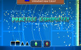 Geometry Dash Android Practice level completed.
